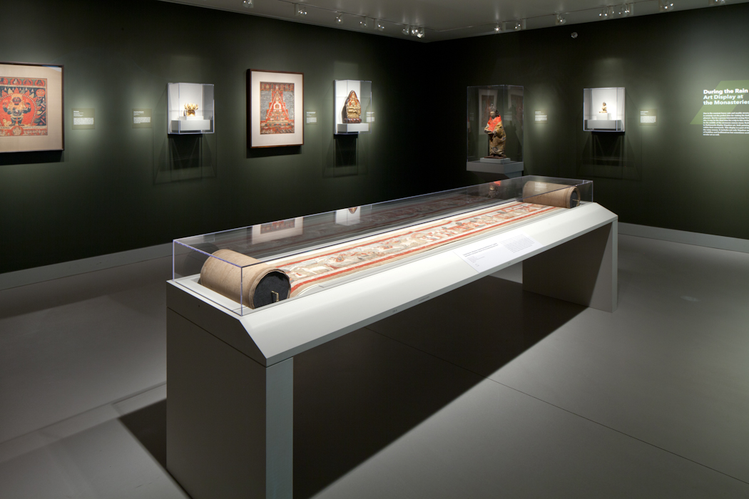 How do you store a 79 foot scroll?